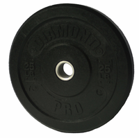 Diamond Pro 25lb Bumper Plate - Pair (Made in USA)