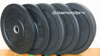 Diamond Pro 260lb Bumper Plate Set (Made in USA) $599.99