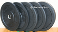 Diamond Pro 260lb Bumper Plate Set (Made in USA)
