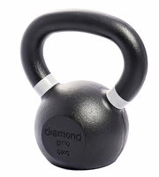 Diamond Pro 8kg (18lb) Iron Kettle Bell $43.99