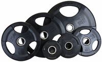 Economy Rubber Encased Olympic Weight Set - 255lbs $569.99