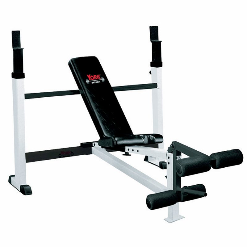 Fts York Olympic Weight Bench W Leg Developer