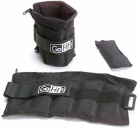 GoFit Ankle Weights - 10lb Pair (5lbs Each) $49.99