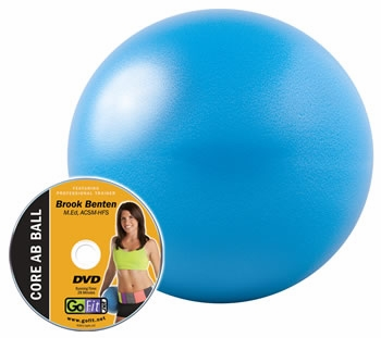 GoFit Core Ab Ball W/DVD