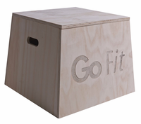 GoFit GF-PLYO Wood Plyo Box