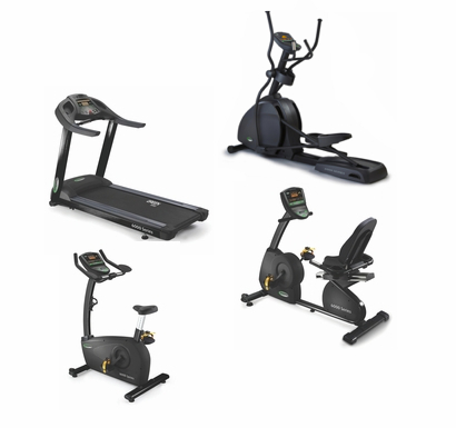 Circle Fitness 6000 Light Commercial Cardio Package