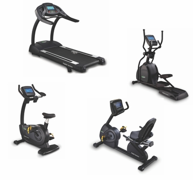 Circle Fitness 7000 Series W/TV Cardio Package