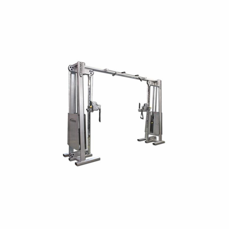 Adjustable Pulleys : Legend fitness cable crossover w adjustable pulley