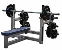 Legend Fitness Olympic Flat Bench W/ Plate Storage 3150