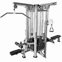 Muscle D Deluxe 4 Stack Jungle Gym