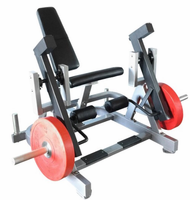 Muscle D Leverage Leg Extension Machine