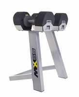 MX Select Adjustable Dumbbell Set W/Rack