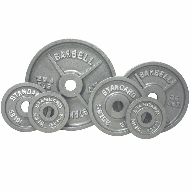 sc 1 st  Fitness Giant & Olympic Weight Plate Set Gray - 255lbs
