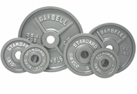 Olympic Weight Plate Set Gray - 455lbs $609.99