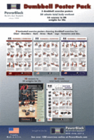 Power Block Dumbbell Poster Pack $29.99