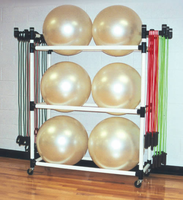 Stability Ball & Fitness Cart