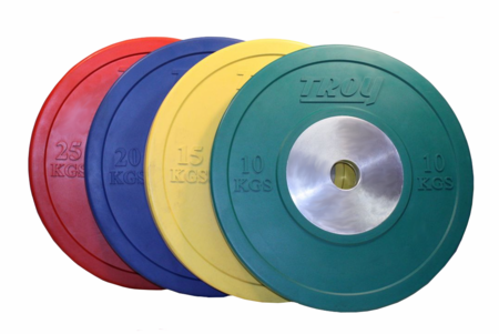 Troy 140kg Competition Bumper Plate Set