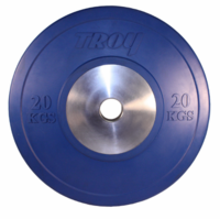 Troy 20kg Competition Bumper Plates - Pair $375.00