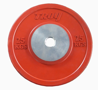 Troy 25kg Competition Bumper Plates - Pair $445.00