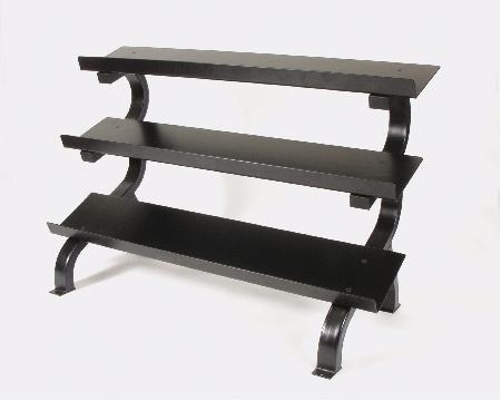 Troy Barbell 3 Tier Shelf Dumbbell Rack