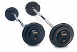 Troy Black Barbell Sets  W/ Black End Caps $0.00