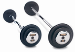 Troy Black Barbell Sets W/Chrome End Caps $0.00