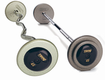 Troy Gray Barbell Sets W/ Black  End Caps $0.00