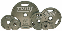 Troy Grip Olympic Weight Plate Set - 255lbs $539.99