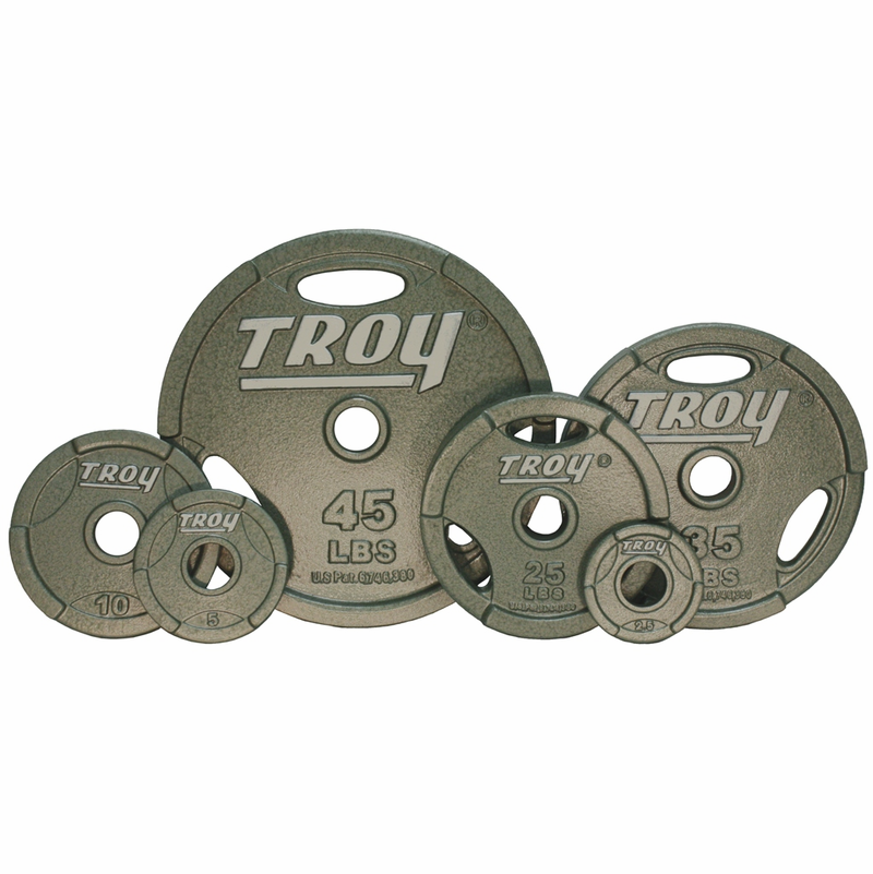 sc 1 st  Fitness Giant & Troy Grip Olympic Weight Plate Set - 255lbs