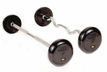 Troy Pro Style Rubber Coated Barbell Sets