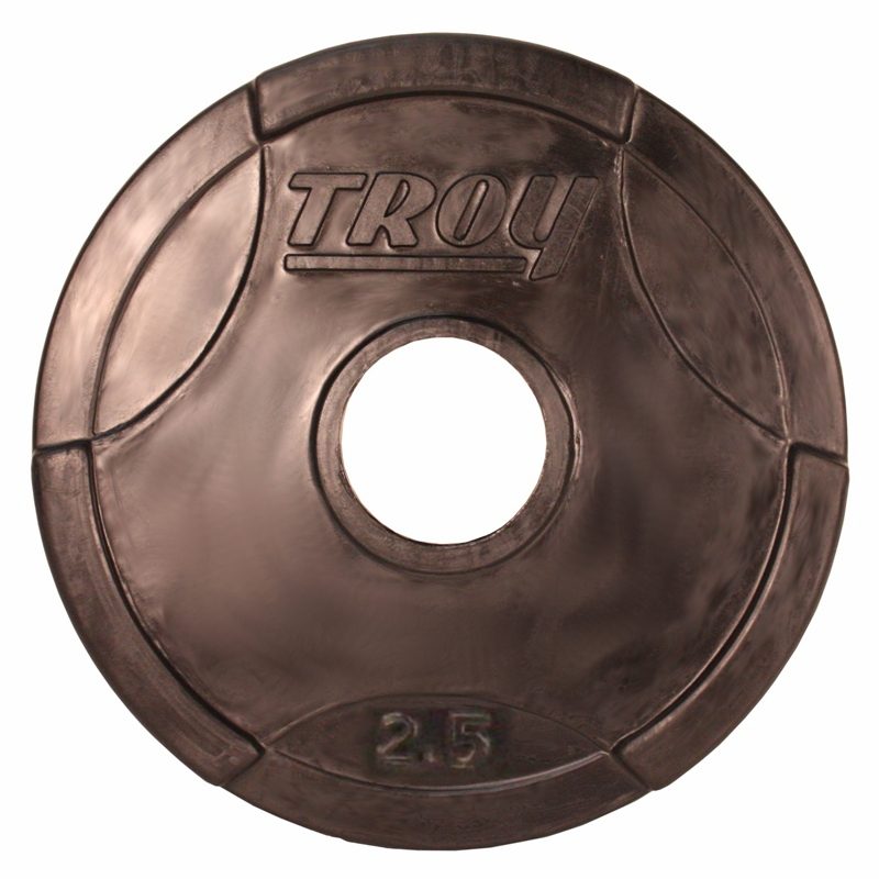 Troy Weight Tree: Troy Rubber Coated Olympic Weight Plates