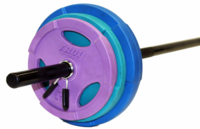 Troy TLW-40GC Color Lightweight Barbell Set $199.99