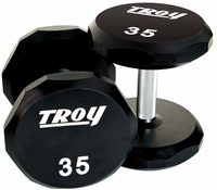 Troy Urethane Encased 12 Sided Dumbbell Sets $0.00