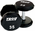 Troy Urethane Encased 12 Sided Dumbbell Sets