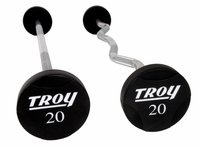 Troy Urethane Encased Barbell Sets