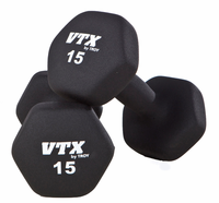 Troy VTX Neoprene Dumbbells 3,5,8,10,12,15lb Set $289.99