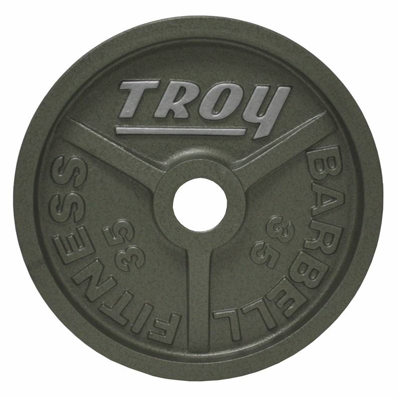 Troy Weight Tree: Troy Wide Flanged Gray Olympic Weight Set
