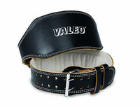 "Valeo 6"" Padded Leather Weight Belt"
