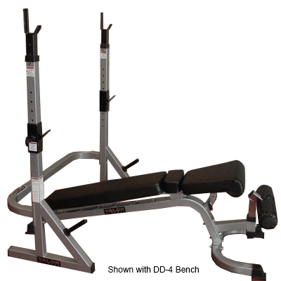 Valor Athletics Bd 17 Combo Squat Stand Bench Rack
