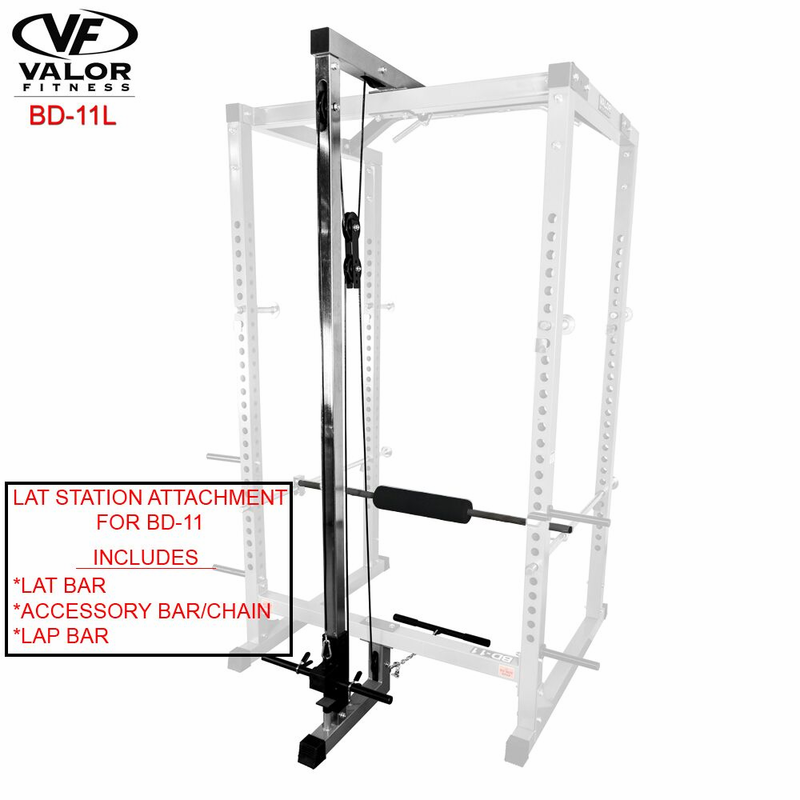 Valor Fitness Bd 11l Lat Pulldown Attachment