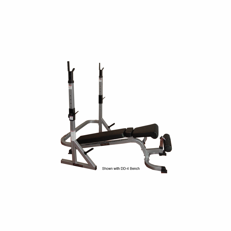 Valor Fitness Bd 17 Combo Squat Stand Bench Rack