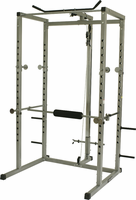 Valor Fitness BD-7 Power Rack W/Lat Machine $659.99