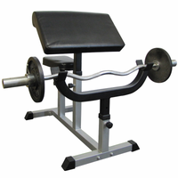 Valor Fitness CB-6 Preacher Arm Curl Bench