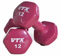 Vinyl Coated Dumbbells 3,5,8,10,12 & 15lb Set