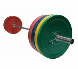VTX 275lb Color Bumper Plate Weight Set $699.99