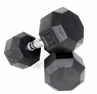 VTX  8 Sided Rubber Encased Dumbbell Sets $0.00