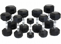 VTX Hex Urethane Encased Dumbbells 5 - 50lb Set $1,169.99