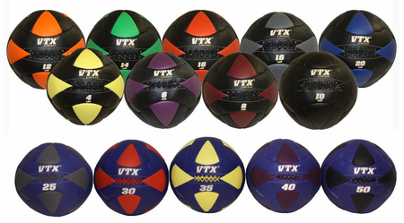 VTX Leather Wall Balls - Complete Set