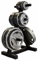 VTX Olympic Grip Weights & Plate Tree Combo $499.99