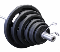 VTX Rubber Encased Olympic Grip Weight Sets $619.99